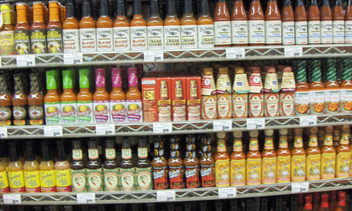 Pepper Sauce Selection