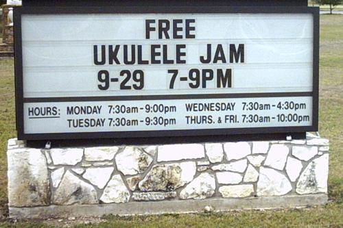 Free Ukele Jam