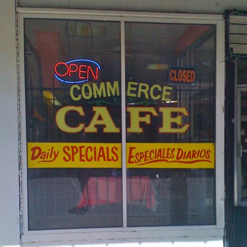 Commerce Cafe