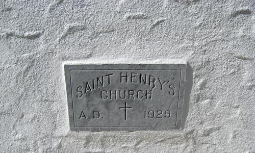 St Henry's Church 1929