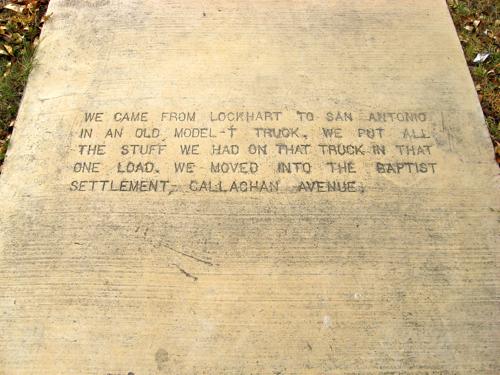 Sidewalk History