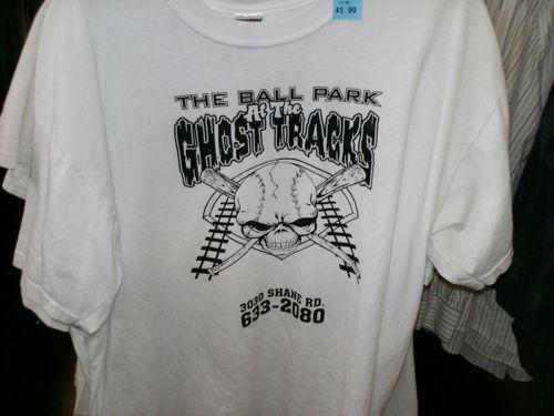 Ghost Tracks Baseball