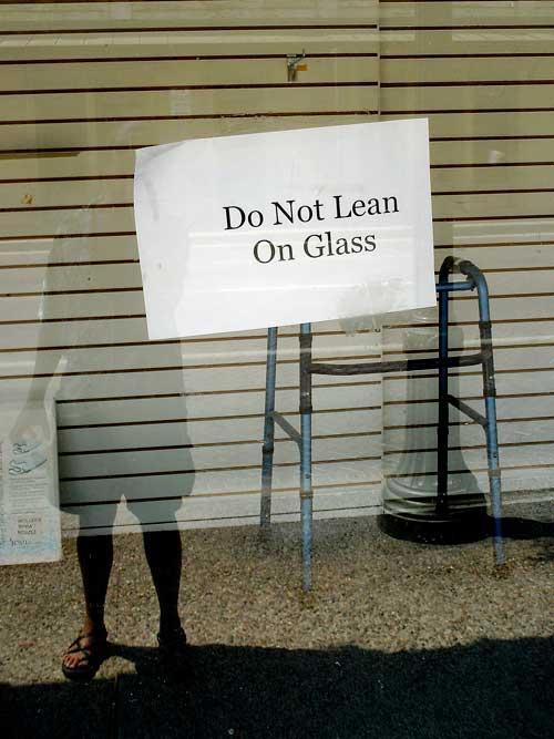 no lean