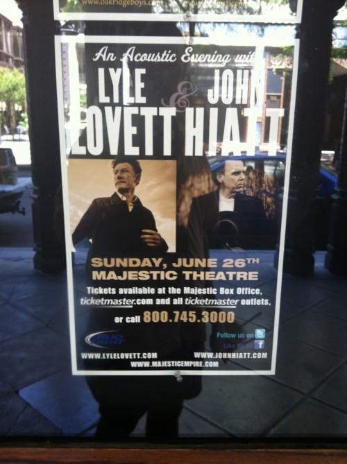 Lyle Lovett Poster