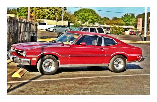 Red Ford Maverick
