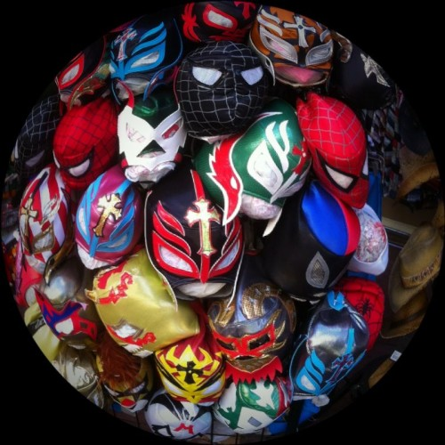 Luchadore Mask Collection