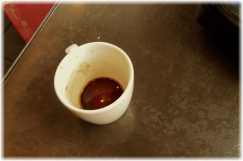 Almost Empty Espresso