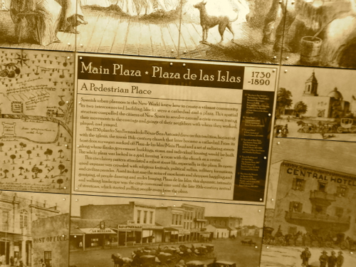 Main Plaza plaque