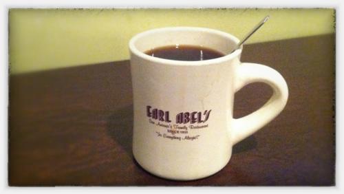 Earl Abel's Coffee Cup