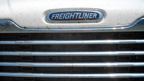 white freighliner