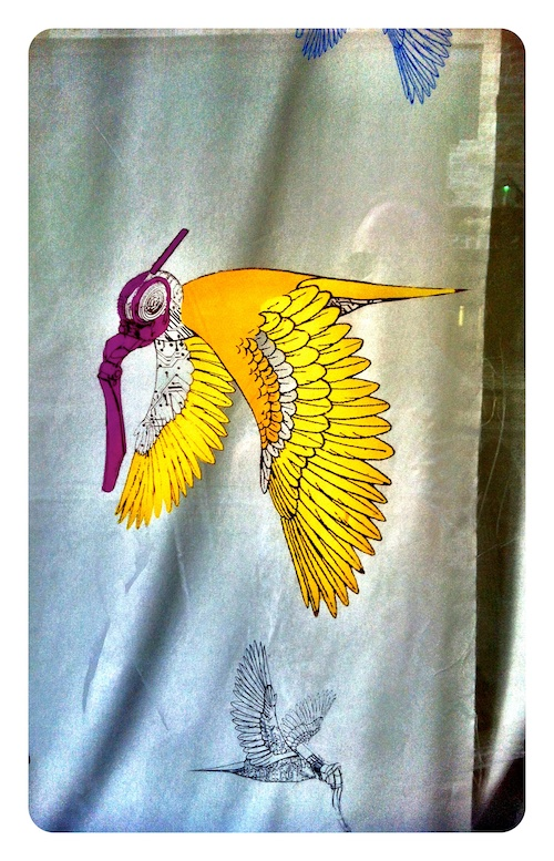 Yellow Bird in Masque
