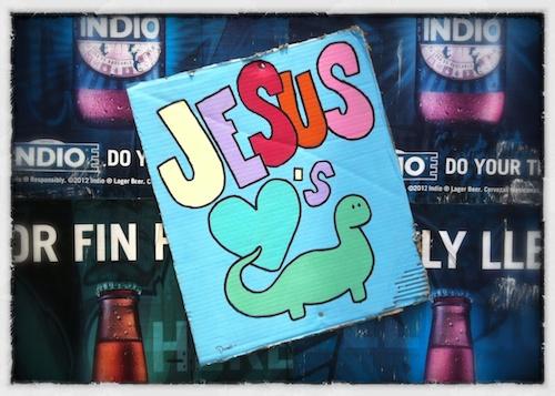 Jesus Loves Dinosaurs