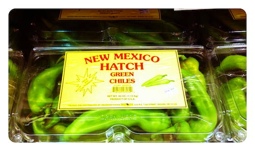 Hatch Green Chilies