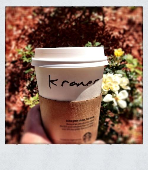 Named Coffee Cup