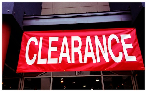 Red Clearance