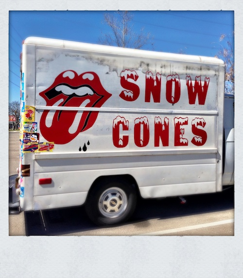 Red Snow Cone