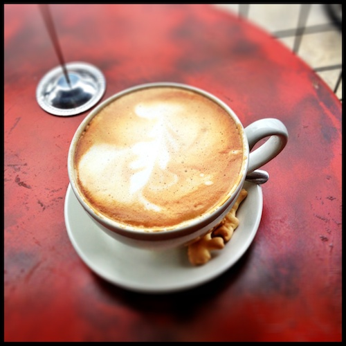 Sunday Halcyon Cappuccino
