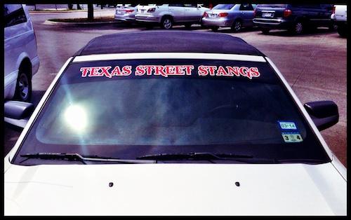 Street Stangs Sticker