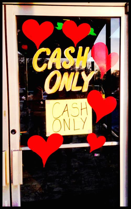 """Eddie's """"Cash Only"""""""