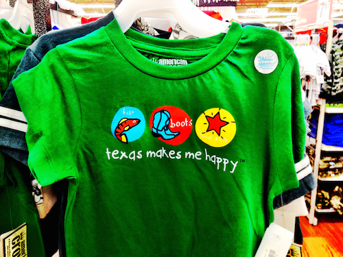 Texas Makes Me Smile