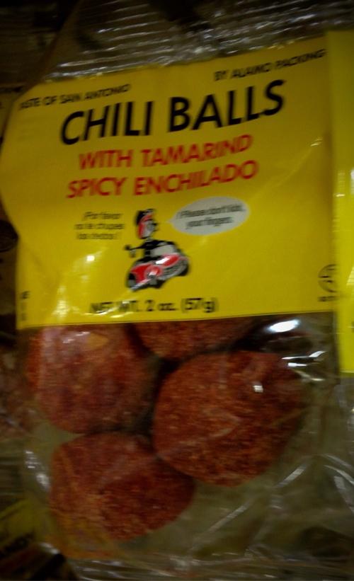 Chinese Chili Balls