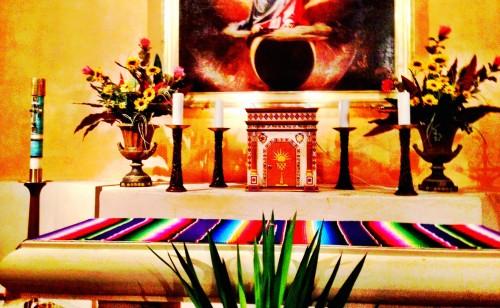 Mission Concepcion Altar Closer