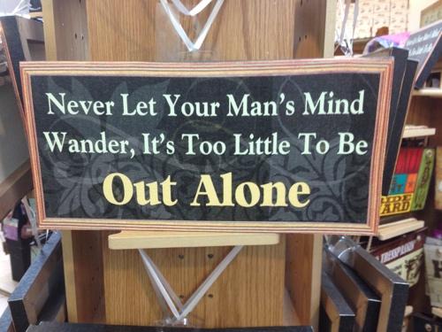 man warning
