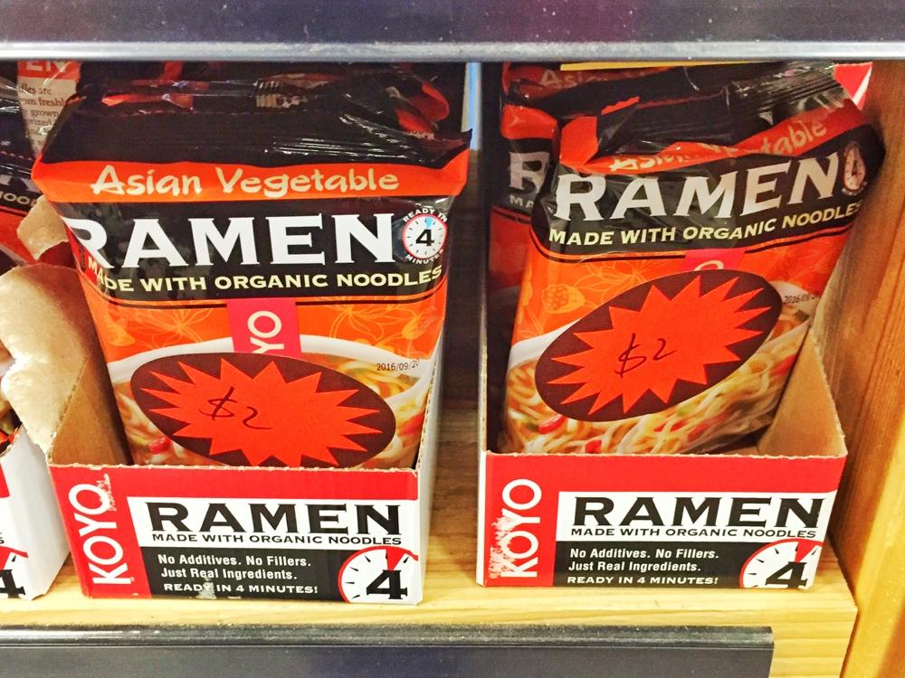 Ramen Sale