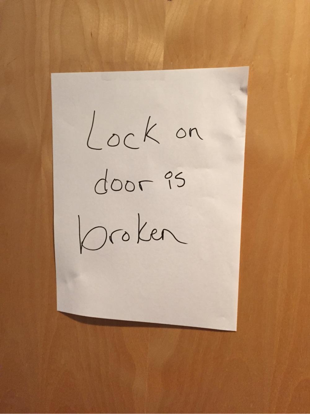 Door is Broken