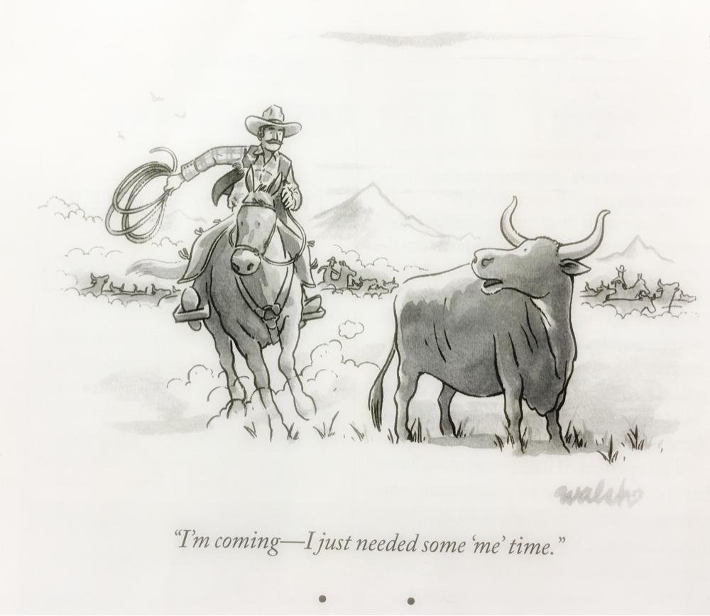 Me Time Cartoon