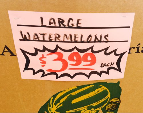 Large Watermelons