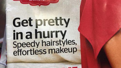 Get Pretty in a Hurry