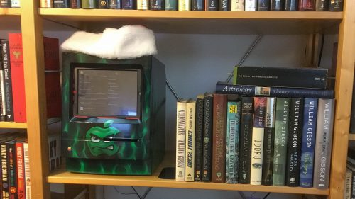 William Gibson Bookshelf