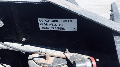 Do Not Drill Holes
