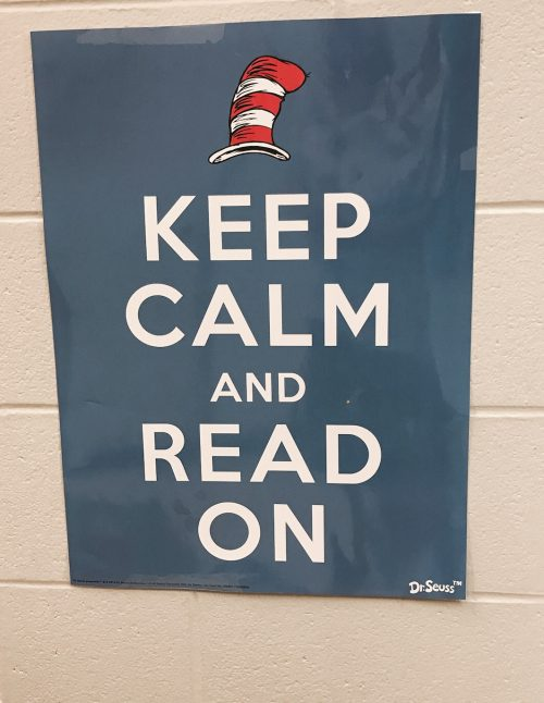 Cat in the Hat Keep Calm